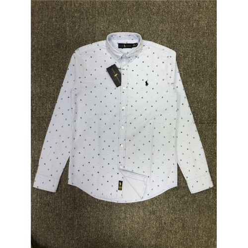 Ralph Lauren Polo Shirts Long Sleeved Polo For Men #830006