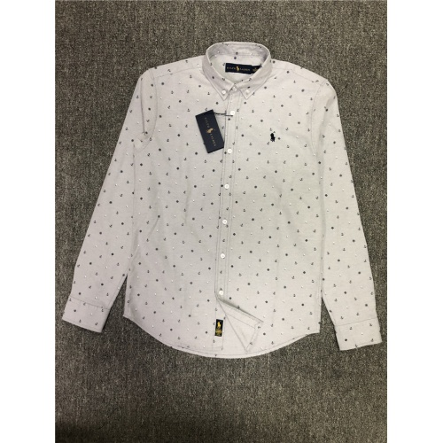 Ralph Lauren Polo Shirts Long Sleeved Polo For Men #830007