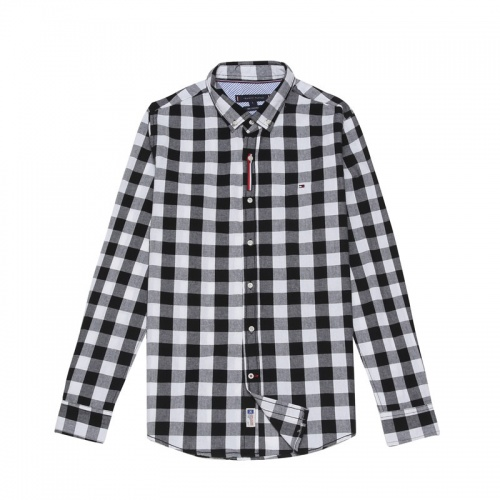 Tommy Hilfiger TH Shirts Long Sleeved Polo For Men #830010 $39.00 USD, Wholesale Replica Tommy Hilfiger TH Shirts
