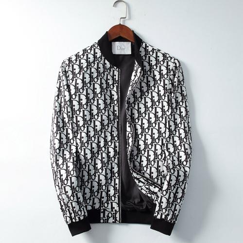 Christian Dior Jackets Long Sleeved Zipper For Men #830029