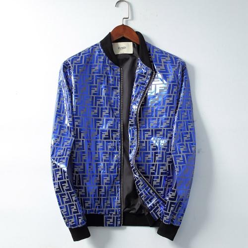 Fendi Jackets Long Sleeved Zipper For Men #830031