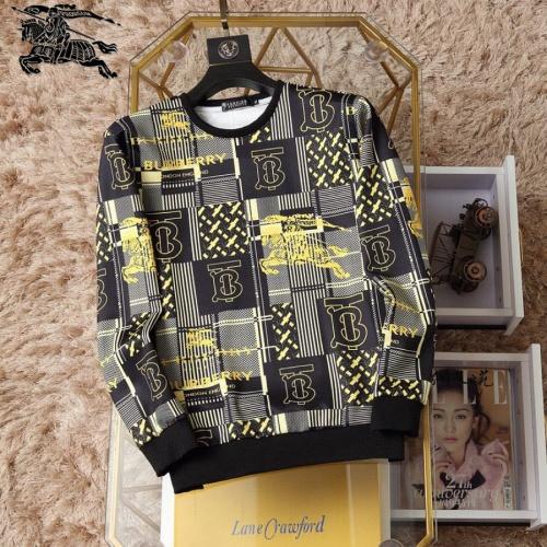 Burberry Hoodies Long Sleeved O-Neck For Men #830037
