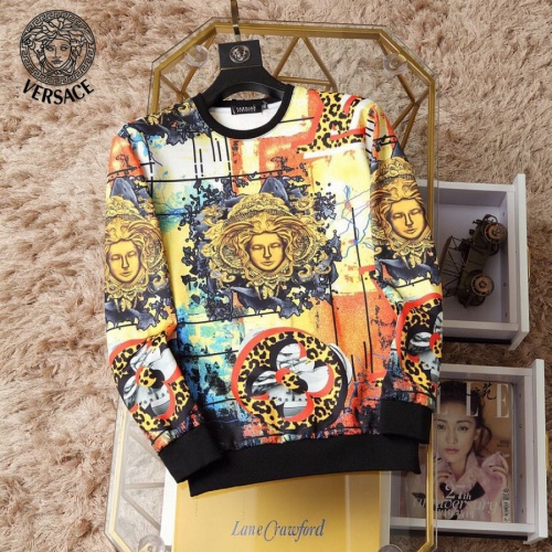 Versace Hoodies Long Sleeved O-Neck For Men #830060