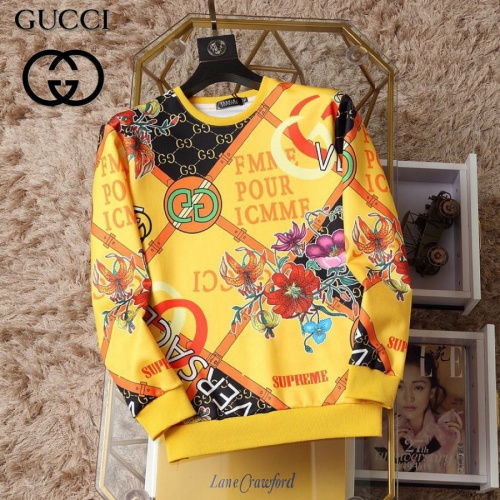 Gucci Hoodies Long Sleeved O-Neck For Men #830063