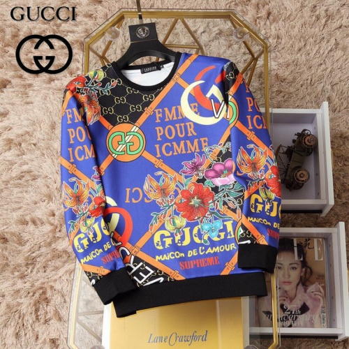 Gucci Hoodies Long Sleeved O-Neck For Men #830064