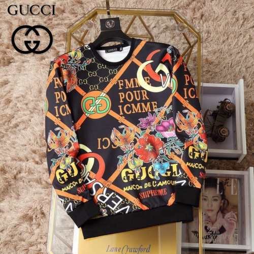 Gucci Hoodies Long Sleeved O-Neck For Men #830065