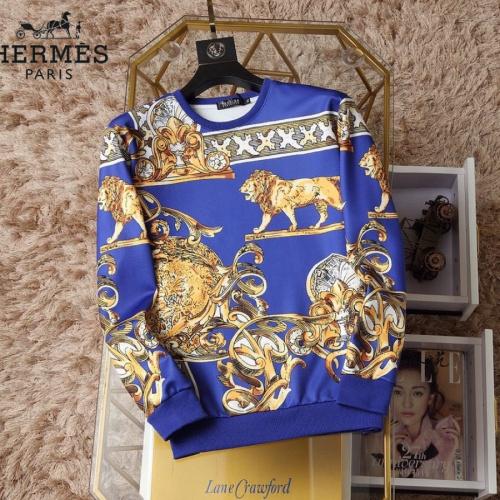 Hermes Hoodies Long Sleeved O-Neck For Men #830067 $38.00 USD, Wholesale Replica Hermes Hoodies
