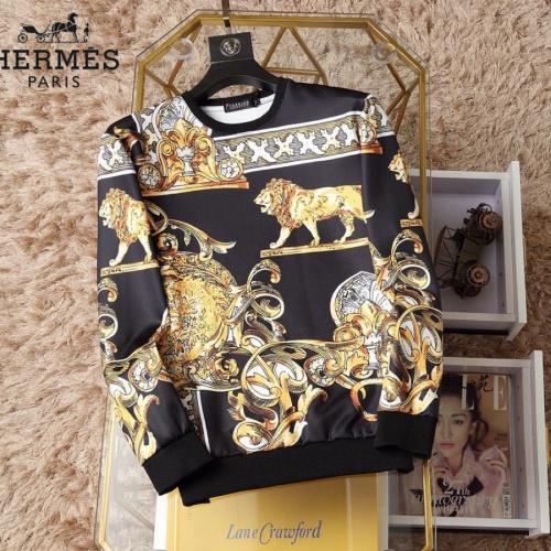Hermes Hoodies Long Sleeved O-Neck For Men #830068