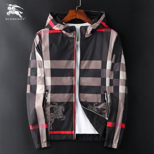 Burberry Jackets Long Sleeved Zipper For Men #830069