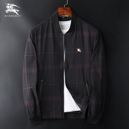 Burberry Jackets Long Sleeved Zipper For Men #830075