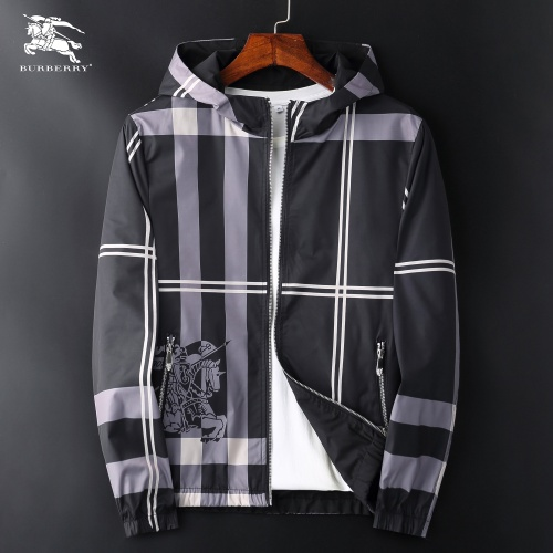 Burberry Jackets Long Sleeved Zipper For Men #830077