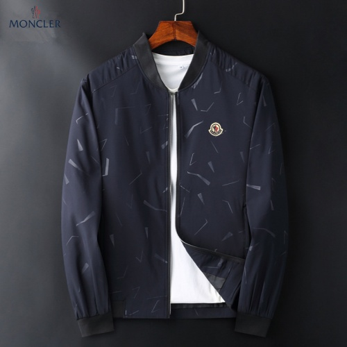 Moncler Jackets Long Sleeved Zipper For Men #830080