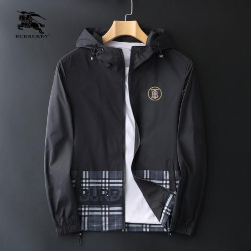 Burberry Jackets Long Sleeved Zipper For Men #830082
