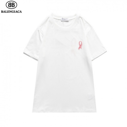 Replica Balenciaga T-Shirts Short Sleeved O-Neck For Men #830089 $25.00 USD for Wholesale