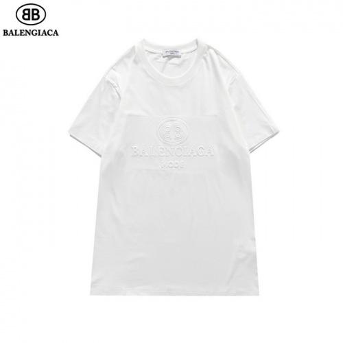 Balenciaga T-Shirts Short Sleeved O-Neck For Men #830093 $27.00, Wholesale Replica Balenciaga T-Shirts