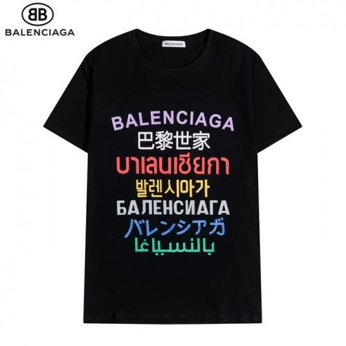 Balenciaga T-Shirts Short Sleeved O-Neck For Men #830098