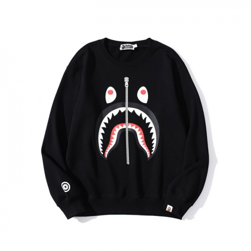 Bape Hoodies Long Sleeved O-Neck For Men #830100 $38.00 USD, Wholesale Replica Bape Hoodies
