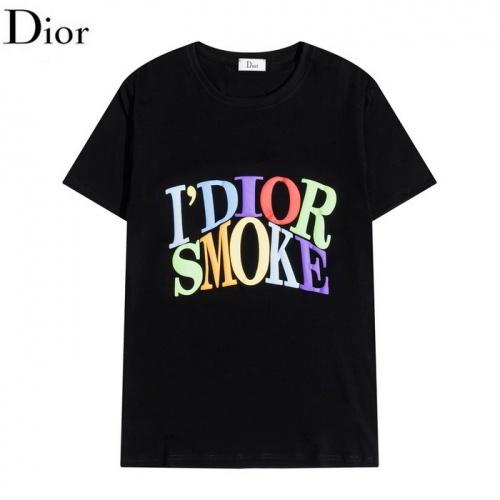 Christian Dior T-Shirts Short Sleeved O-Neck For Men #830155
