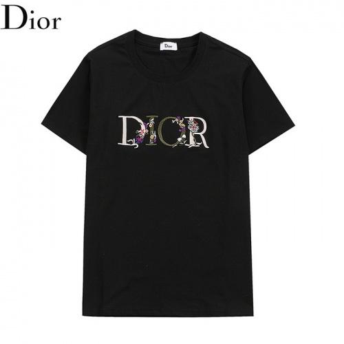 Christian Dior T-Shirts Short Sleeved O-Neck For Men #830157