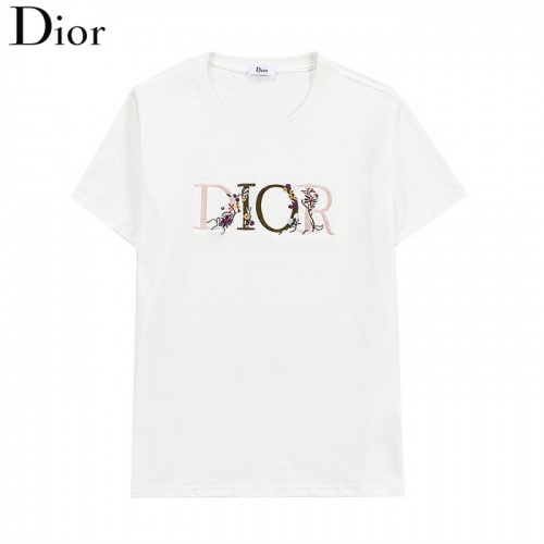 Christian Dior T-Shirts Short Sleeved O-Neck For Men #830158 $27.00 USD, Wholesale Replica Christian Dior T-Shirts
