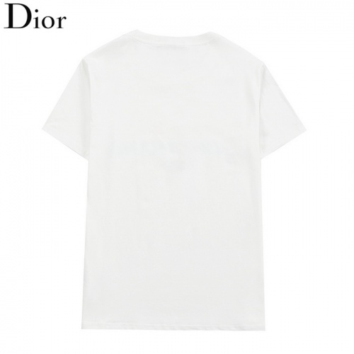 Replica Christian Dior T-Shirts Short Sleeved O-Neck For Men #830158 $27.00 USD for Wholesale