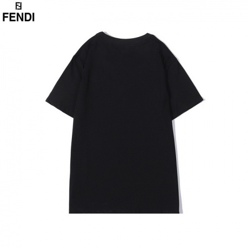 Replica Fendi T-Shirts Short Sleeved O-Neck For Men #830168 $27.00 USD for Wholesale