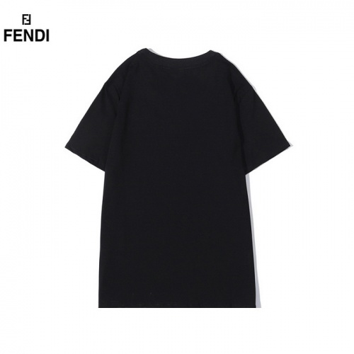 Replica Fendi T-Shirts Short Sleeved O-Neck For Men #830169 $27.00 USD for Wholesale