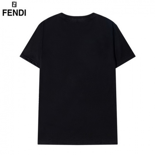 Replica Fendi T-Shirts Short Sleeved O-Neck For Men #830176 $29.00 USD for Wholesale