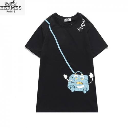 Hermes T-Shirts Short Sleeved O-Neck For Men #830249