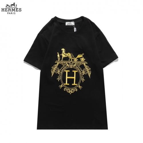 Hermes T-Shirts Short Sleeved O-Neck For Men #830251