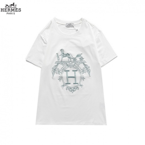 Hermes T-Shirts Short Sleeved O-Neck For Men #830252 $27.00 USD, Wholesale Replica Hermes T-Shirts
