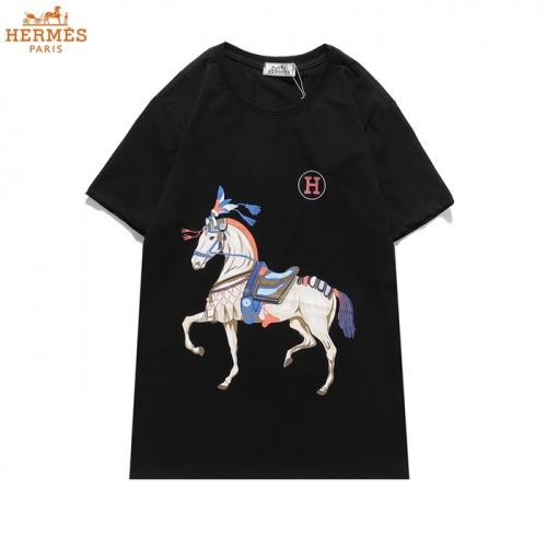 Hermes T-Shirts Short Sleeved O-Neck For Men #830253 $27.00 USD, Wholesale Replica Hermes T-Shirts