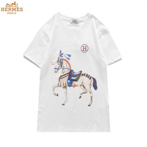 Hermes T-Shirts Short Sleeved O-Neck For Men #830254 $27.00 USD, Wholesale Replica Hermes T-Shirts