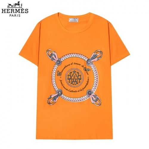 Hermes T-Shirts Short Sleeved O-Neck For Men #830255 $27.00 USD, Wholesale Replica Hermes T-Shirts