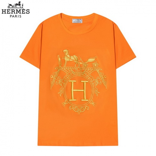 Hermes T-Shirts Short Sleeved O-Neck For Men #830260 $29.00 USD, Wholesale Replica Hermes T-Shirts