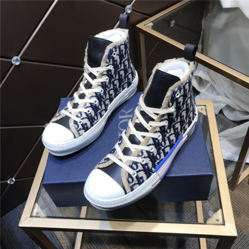 Christian Dior High Tops Shoes For Men #830265