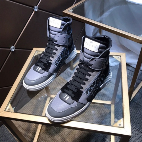 Philipp Plein PP High Tops Shoes For Men #830266