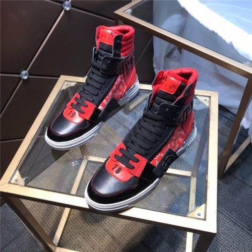 Philipp Plein PP High Tops Shoes For Men #830267