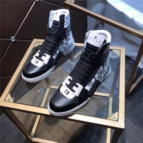 Philipp Plein PP High Tops Shoes For Men #830268