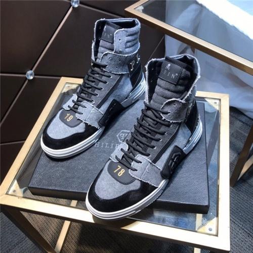 Philipp Plein PP High Tops Shoes For Men #830270