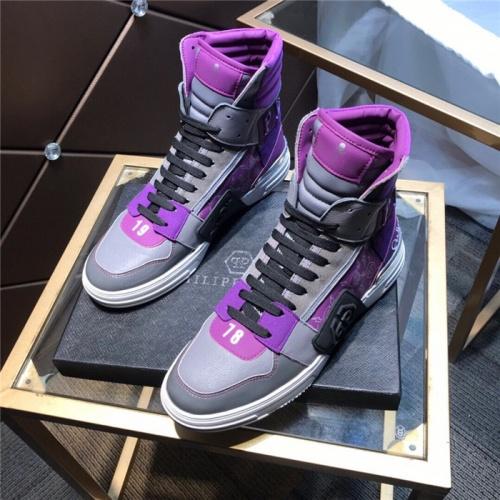 Philipp Plein PP High Tops Shoes For Men #830271
