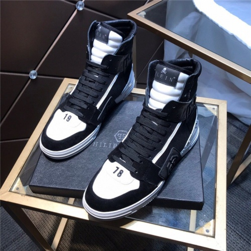 Philipp Plein PP High Tops Shoes For Men #830273