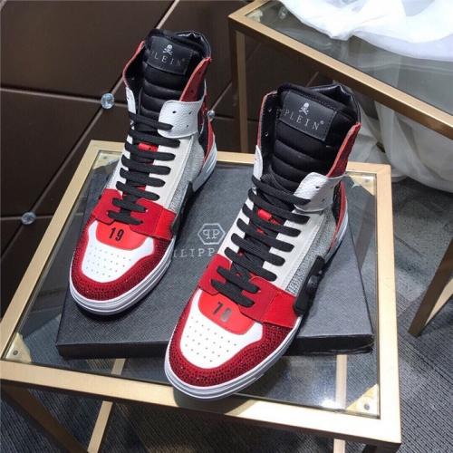 Philipp Plein PP High Tops Shoes For Men #830275