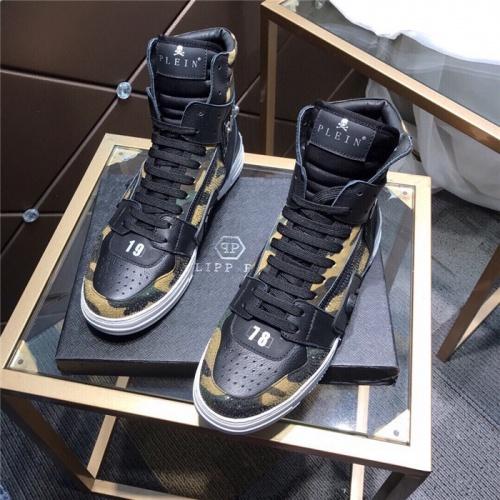 Philipp Plein PP High Tops Shoes For Men #830276