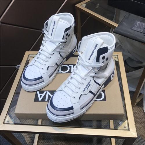 Dolce & Gabbana D&G High Top Shoes For Men #830277