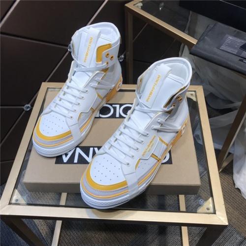 Dolce & Gabbana D&G High Top Shoes For Men #830278