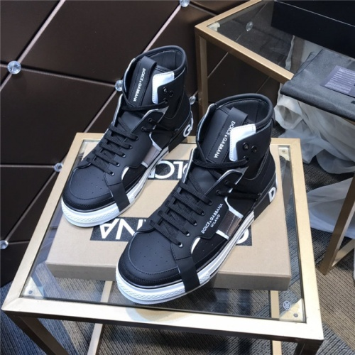 Dolce & Gabbana D&G High Top Shoes For Men #830280