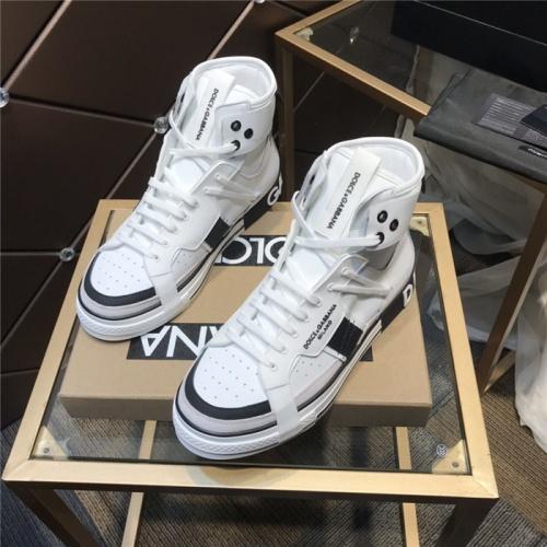 Dolce & Gabbana D&G High Top Shoes For Men #830281