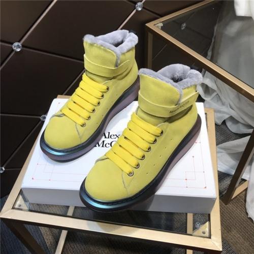Alexander McQueen High Tops Shoes For Men #830293