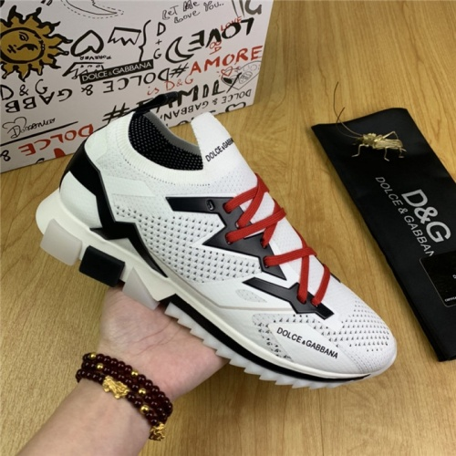 Replica Dolce & Gabbana D&G Casual Shoes For Men #830294 $85.00 USD for Wholesale